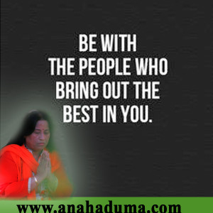 be with people