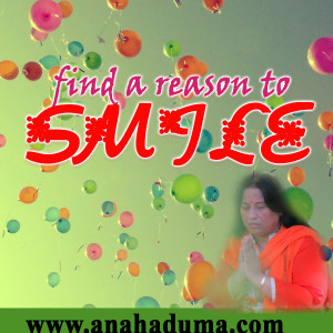 find a reason to smile