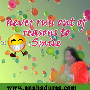 never run out of reasons to smile